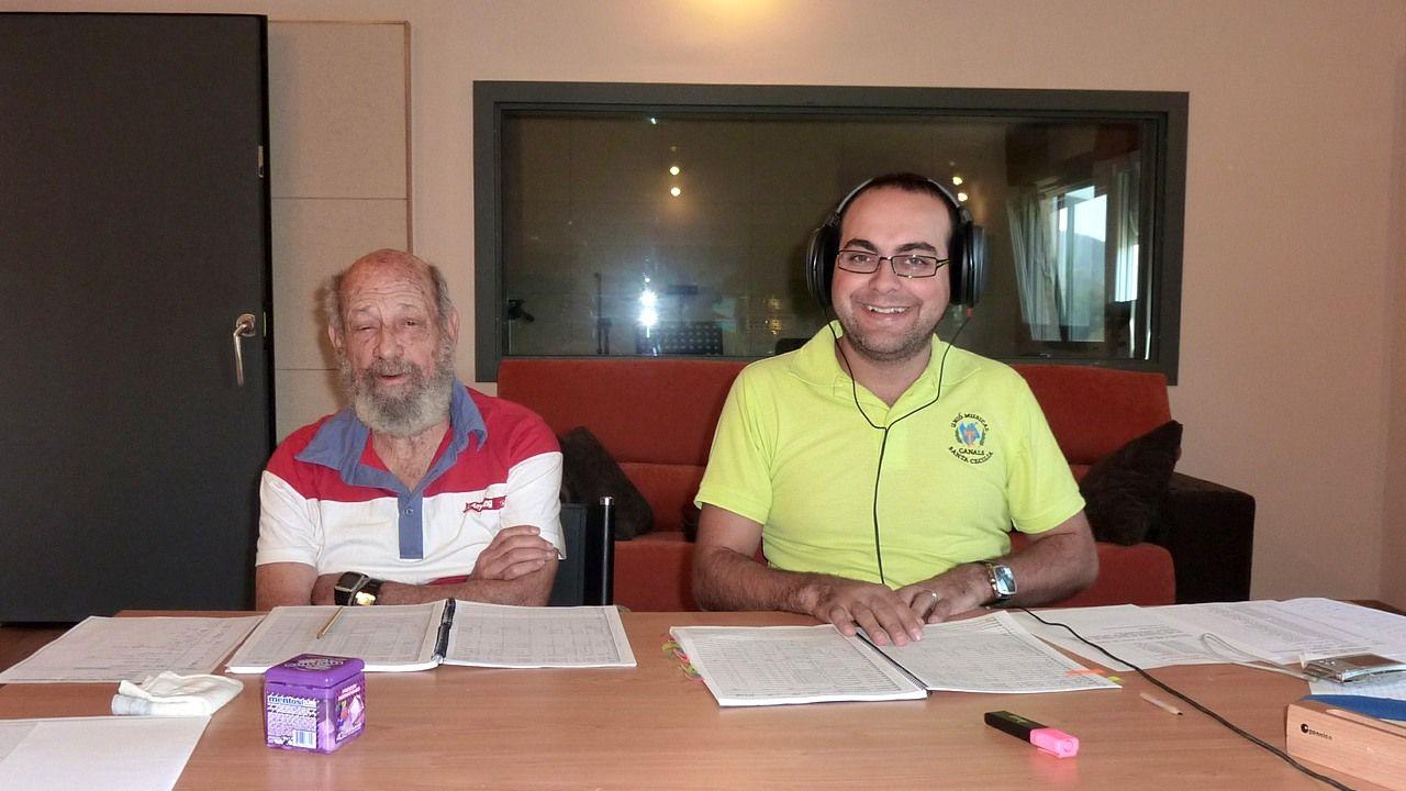 Norman Milanés y Jose Enrique Martínez