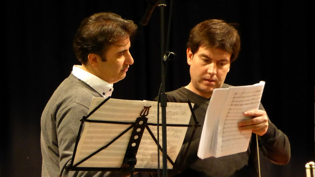 Pedro Rubio y Ángel Hernández