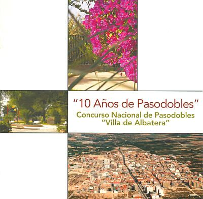CD 10 Años de Pasodobles
