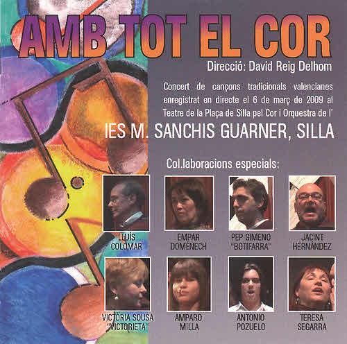 CD Amb tot el cor - Silla