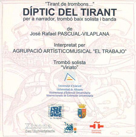 CD Díptic del Tirant