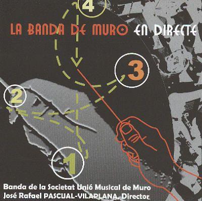CD La Banda de Muro en Directe