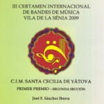 CD Yatova-La Senia 2009
