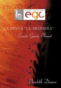 Ernesto García Climent. Portada partitura La Penya La Bromera