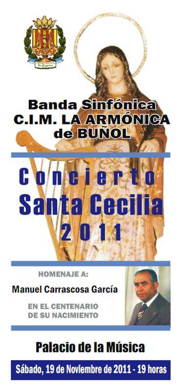 El Litro de Buñol. Concierto de Santa Cecília 2011