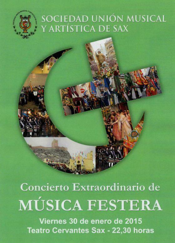 SUMA Sax, Concierto de Música Festera 2015