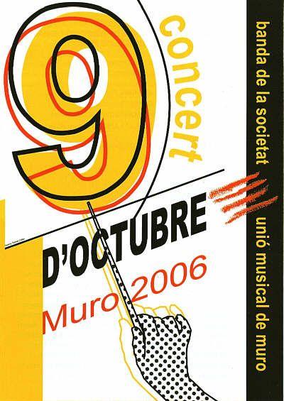 Unió Musical de Muro_9 octubre 2006. Audioart Grabaciones de Bandas de Música