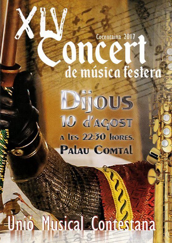 Unió Musical Contestana - XLV Concert de Música Festera
