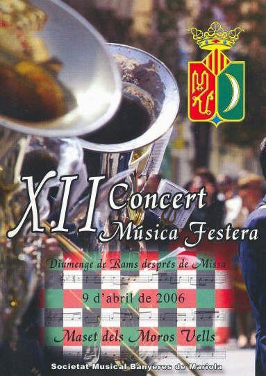 XII Concert de Música Festera 2006. Banyeres de Mariola