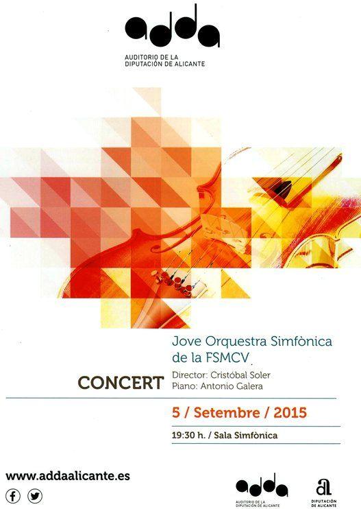 Federación de Sociedades Musicales de la Comunidad Valenciana Orquesta Federal 2015