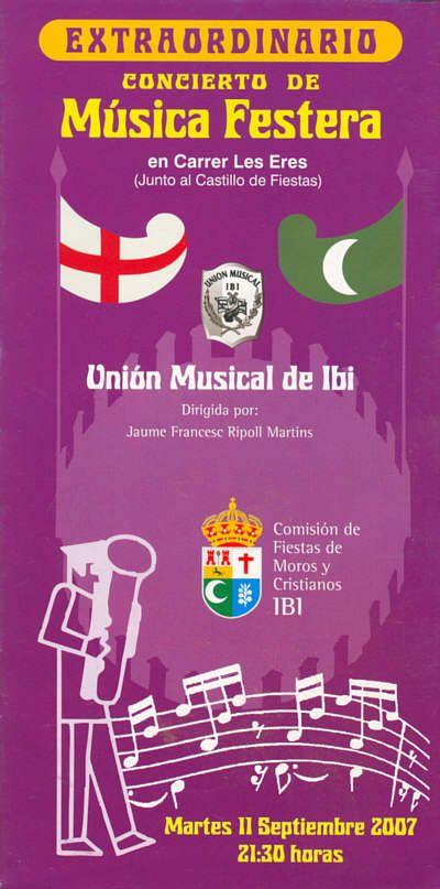 Ibi. Concierto de Música Festera 2007