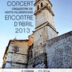 Orquestra de Vents Filharmonia - Encontre d'Abril 2013 a Ontineynt