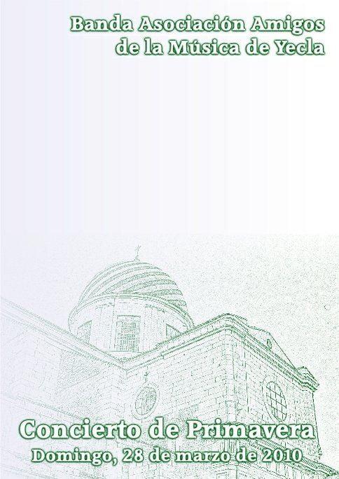 Yecla Concierto de Primavera 2010