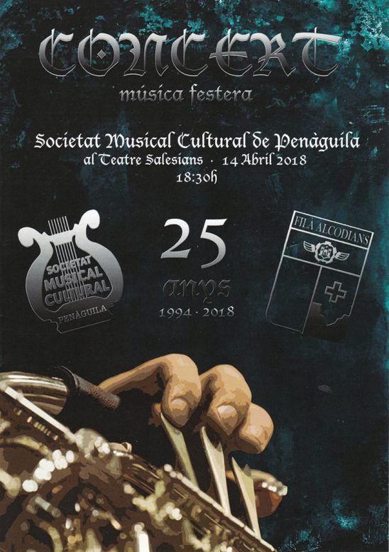 Concert Alcodianos SM Penàguila