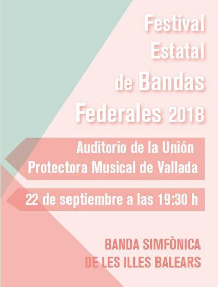 Festival Estatal de Bandas Federales 2018