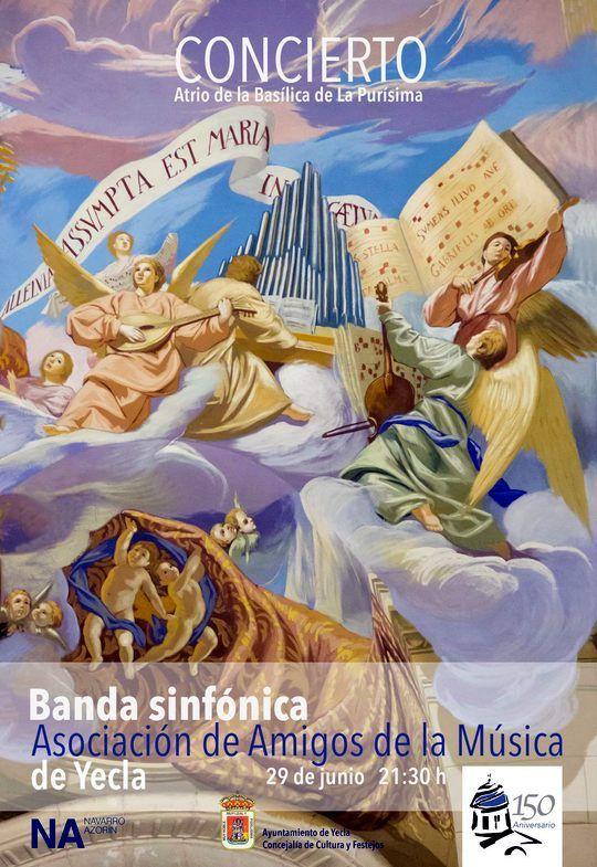 Amigos de la Música de Yecla - Concierto Atrio de la Basílica de la Purísima 2019