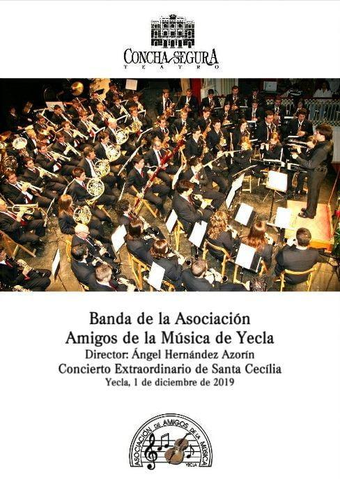 Yecla Santa Cecília 2019 Programa