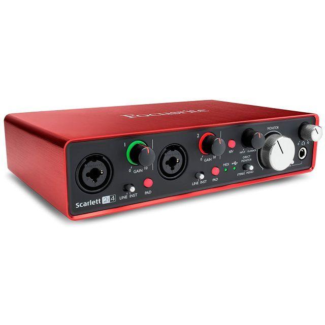 Audioart Focusrite Scarlet 2i4