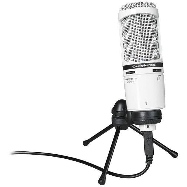 Micrófono Audio Technica AT2020 USB+WH