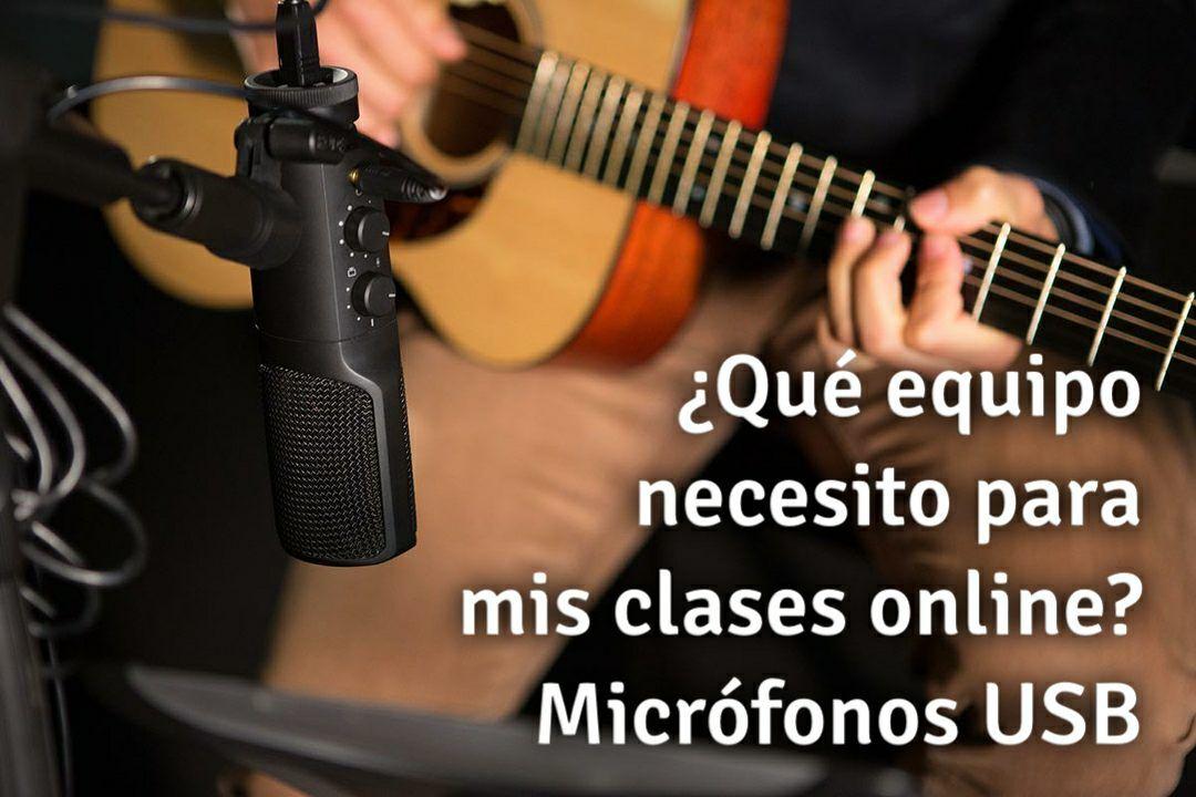Que equipo necesito para mis clases online - Parte 1 - Micrófonos USB