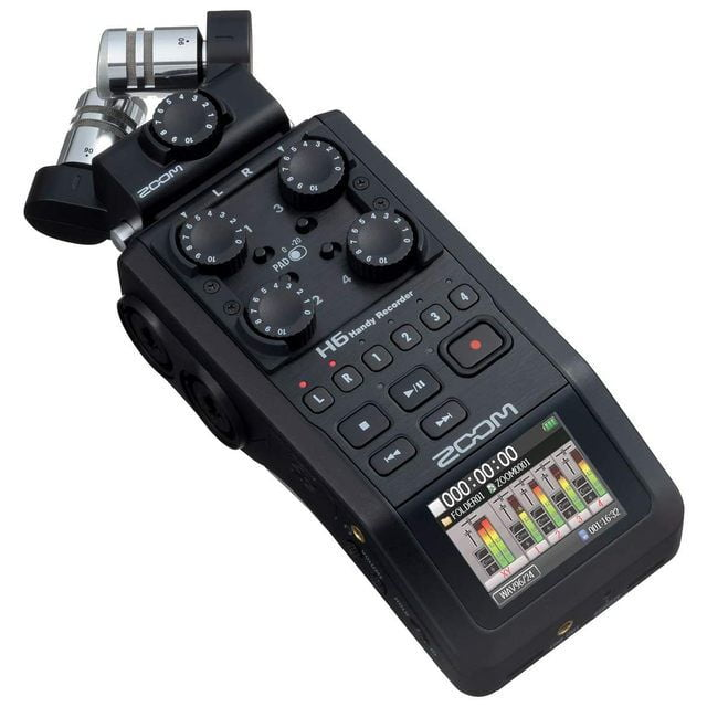 Zoom H6 Pro