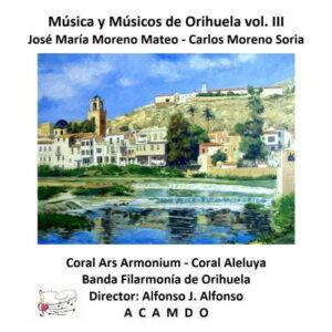 ACAMDO Compositores III Portada CD